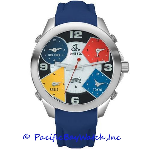 Jacob & Co. JC-4 Men's 5 Time Zone