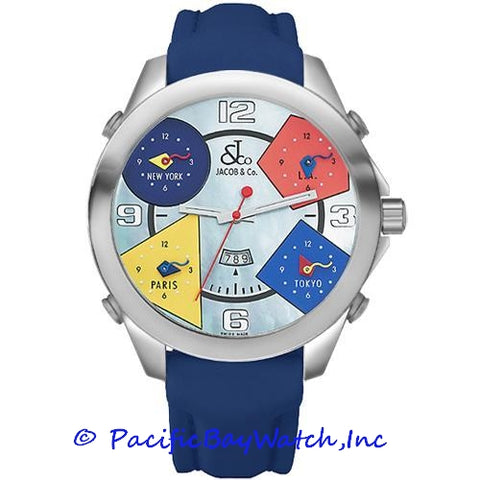 Jacob & Co. JC-8 Men's 5 Time Zone