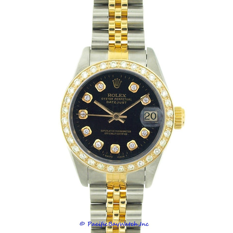 Rolex DateJust Ladies 79173 Diamond Watch