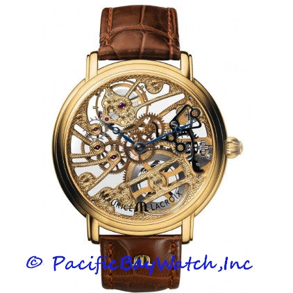 Maurice Lacroix Masterpiece Skeleton MP7048-YG101-00