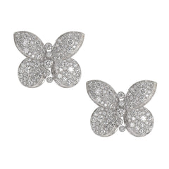 Graff Princess Butterfly Stud Diamond Earrings RGE1174