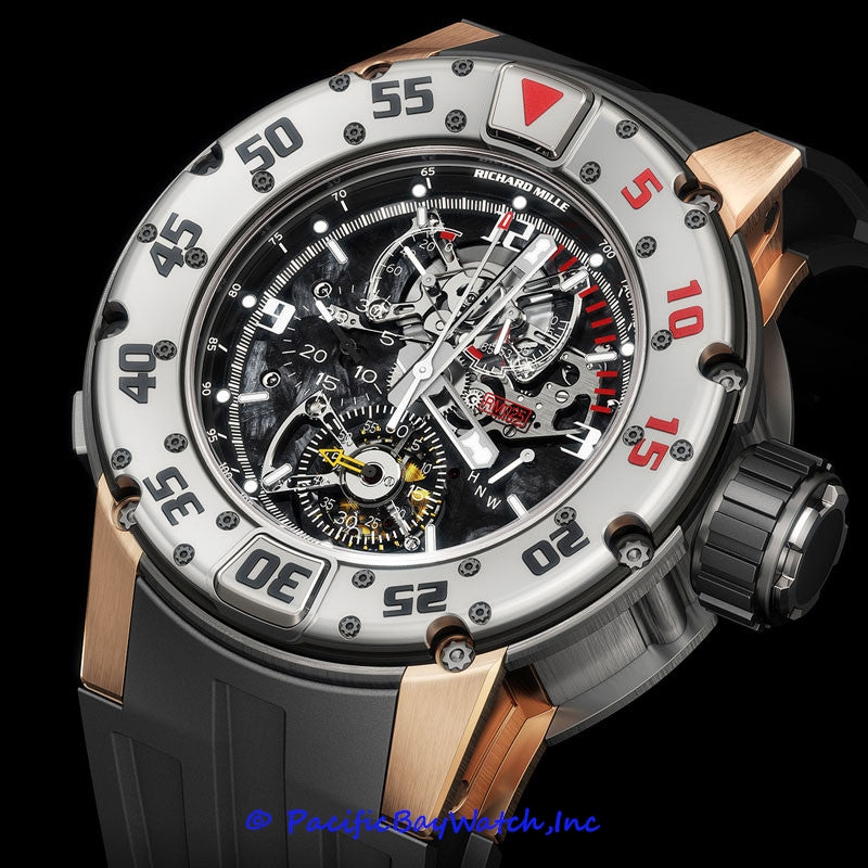 Richard Mille Rm25 Diver Tourbillon Chronograph Pre Owned