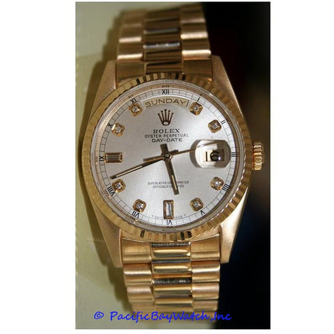 Rolex President Pre-owned Men's 18238