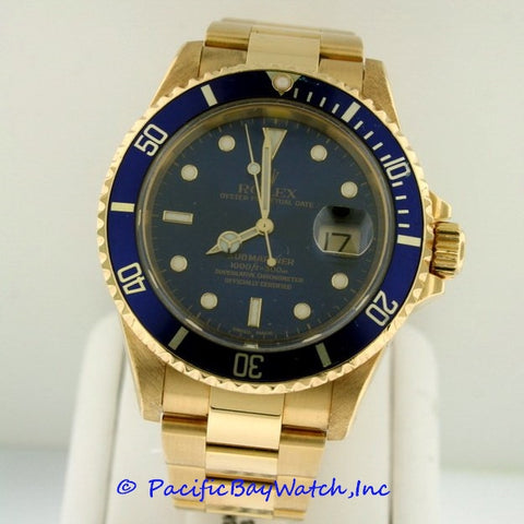 Rolex Submariner Pre-owned 16618