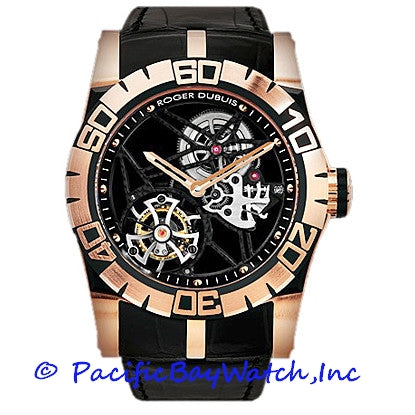 Roger Dubuis Easy Diver Skeleton Flying Tourbillon SED48-02SQ-51-00/09000/B1