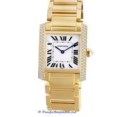 Cartier Tank Francaise Mid-Size Diamond Pre-Owned