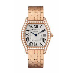 Cartier Tortue 18k Rose Gold Diamond WA501012