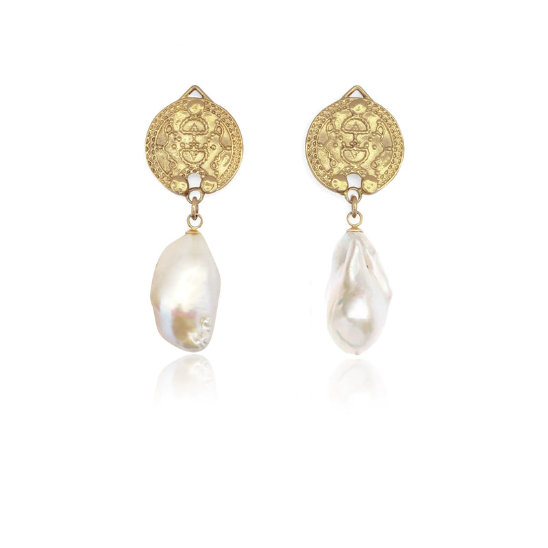 Amatheia with Fresh Water Baroque Pearls