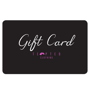 Tempted Clothing Gift Card R500 Gift Card Gift Card From R500-R3000