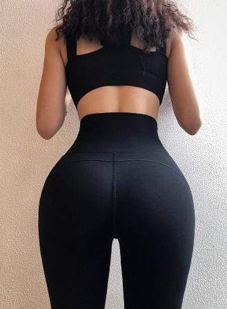 Tempted Clothing High Waist Leggings -Push Up effect