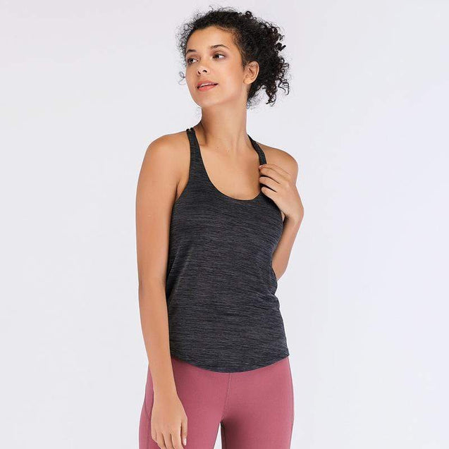 Tempted Clothing Lamarr Tank Top with build in Sports Bra