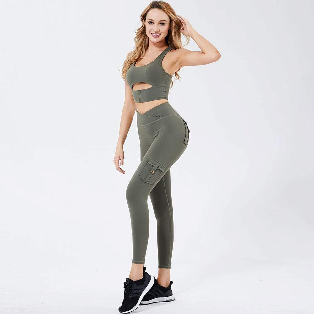 Tempted Clothing Lea Cargo Leggings