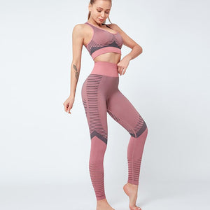 Tempted Clothing Leggings Active Energy detailed seamless leggings