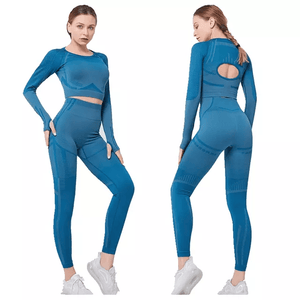 Tempted Clothing Nihan Seamless Long Sleeve Set