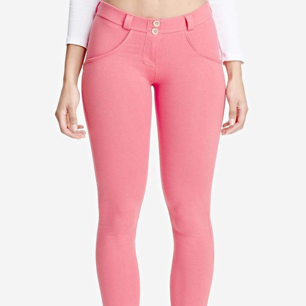 Tempted Clothing Pink Cotton Push Up Pants