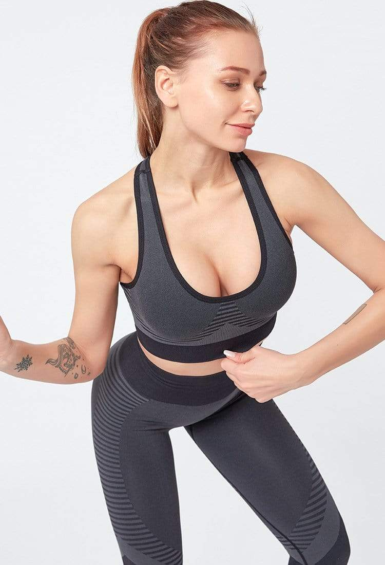 Tempted Clothing sets Active Energy detailed seamless set