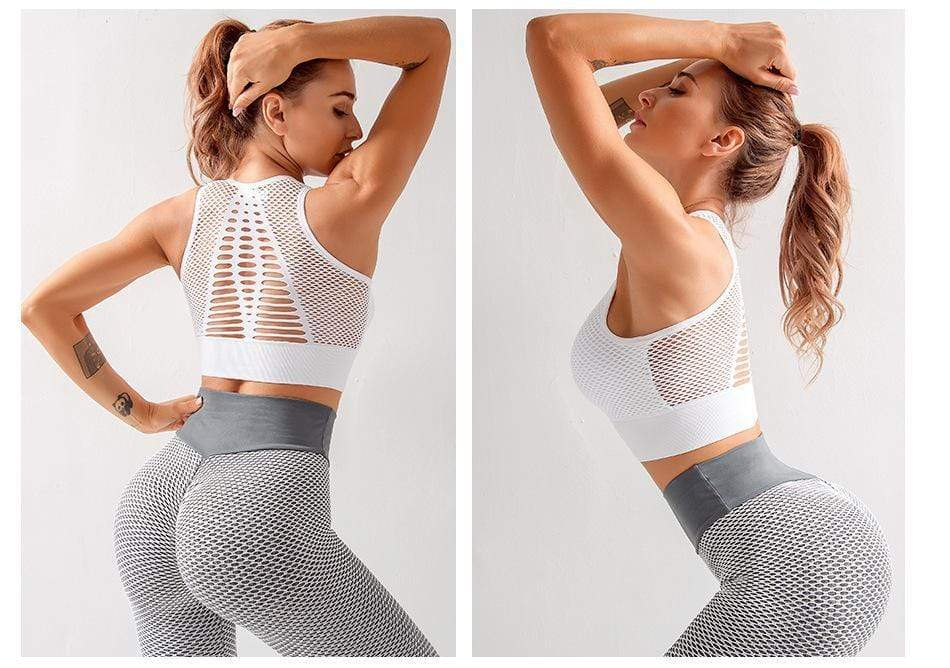Tempted Clothing Sport Bra Enell Crop Sports Bra