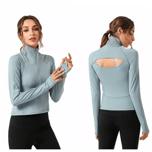 Tempted Clothing Sport Bra & Tank Tops Cappella Long Sleeve Top