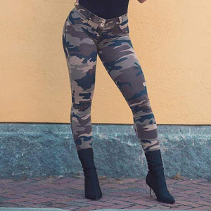 www.tempted.co.za Push up camov🐑 Extra Small-6 / Dark Camo Camouflage Push Up Pants - Dark Camo CPU-1