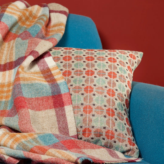 Wool throws and accessories from Bronte
