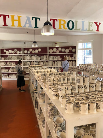 Emma Bridgewater seconds shop