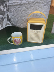 DAB Bluetooth mustard radio