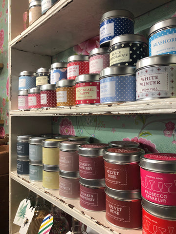 Country candles for teachers