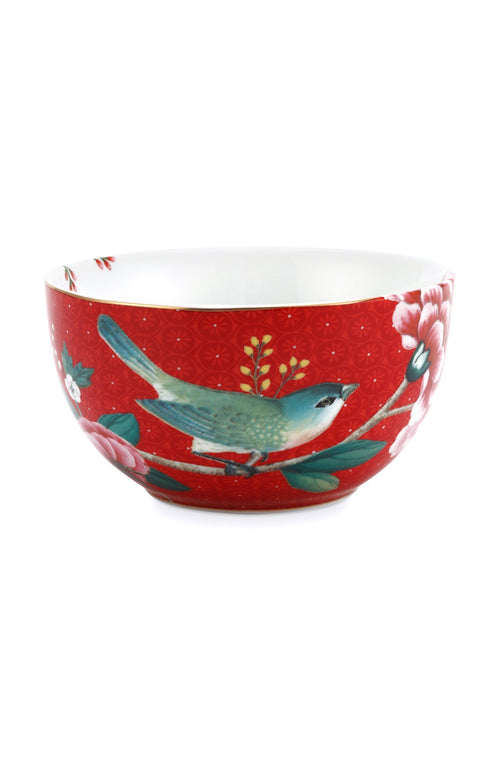 Pip Studio Blushing Birds Red 12cm bowl - Daisy Park