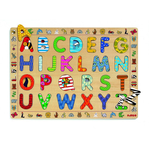Djeco Educational Puzzle - ABC - Daisy Park