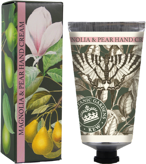 Kew Gardens 75ml Magnolia and Pear botanical handcream - Daisy Park