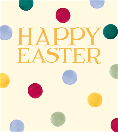Emma Bridgewater - Happy Easter Polka dot card pack - Daisy Park