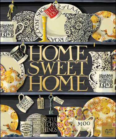 Emma Bridgewater New Home card - Daisy Park