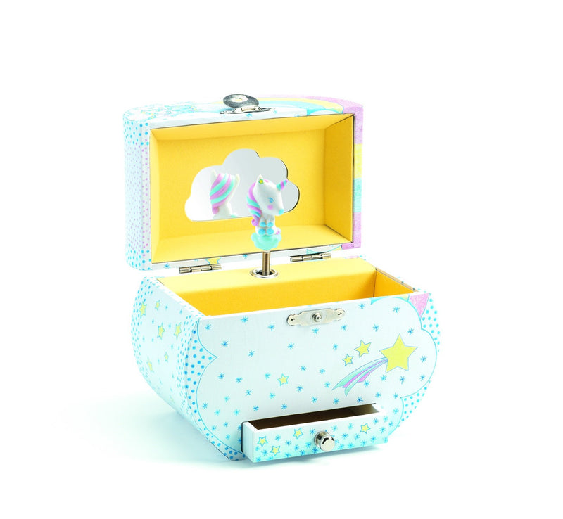 Djeco Unicorns Dreams musical box - Daisy Park