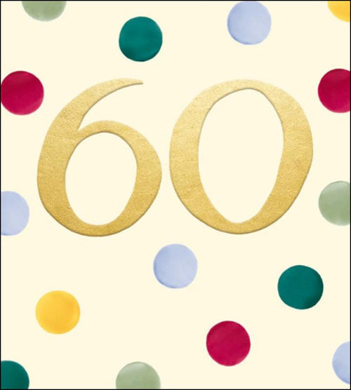 Emma Bridgewater 60th Birthday card