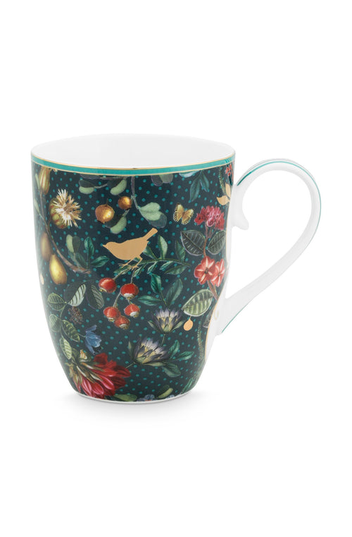 Pip Studio Winter Wonderland overall dark blue large mug - Daisy Park