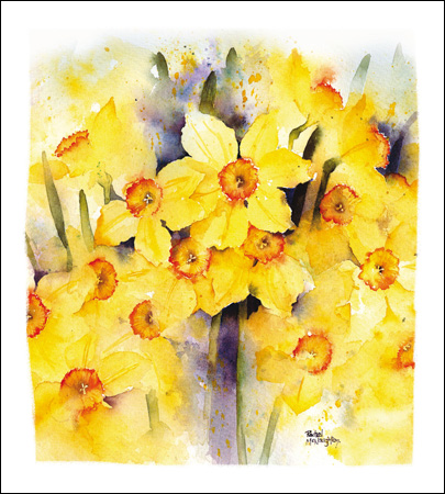 Bright & Beautiful - Easter card