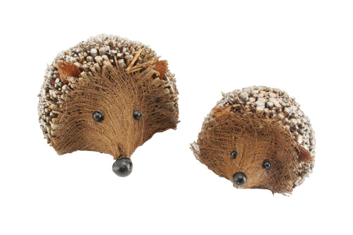 Gisela Graham Twig Sparkle Hedgehog ornament - Daisy Park
