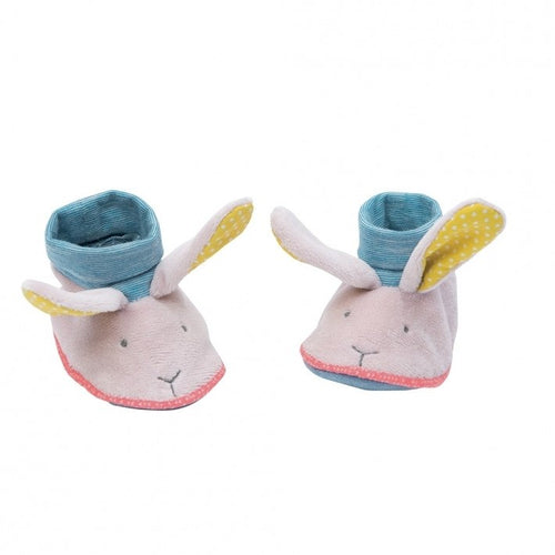 Moulin Roty Mademoiselle rabbit slippers - Daisy Park