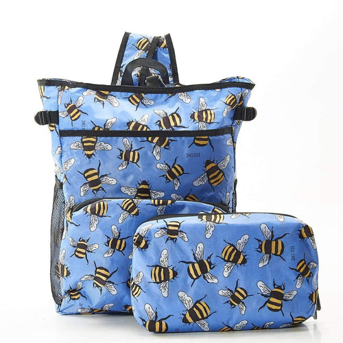 Eco Chic Blue Bees Cool Backpack - Daisy Park