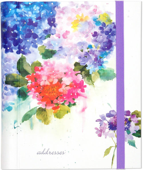 Hydrangeas Large address book - Daisy Park