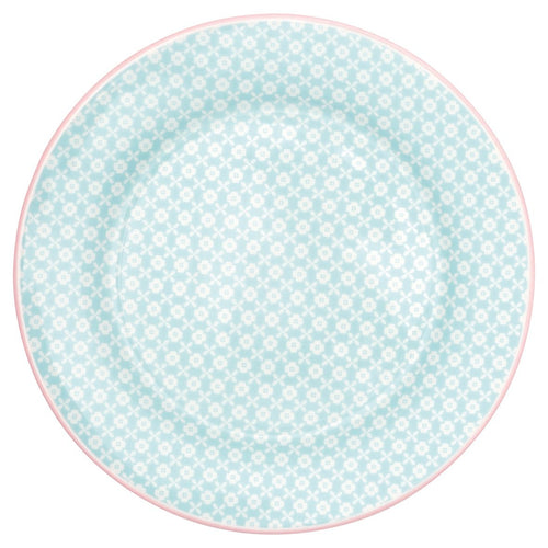 Greengate Helle pale blue plate