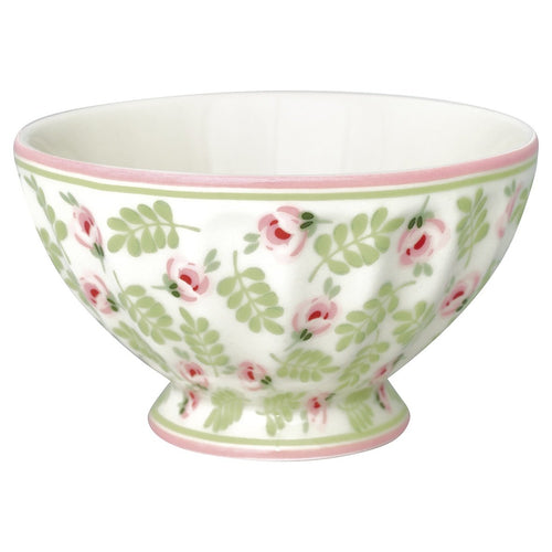 Greengate Lily petit white French bowl medium
