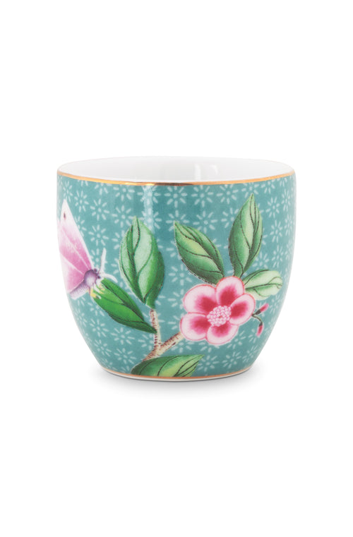 Pip Studio Blushing Birds blue egg cup
