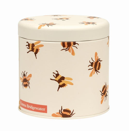 Emma Bridgewater Bumblebee string tin with string - Daisy Park