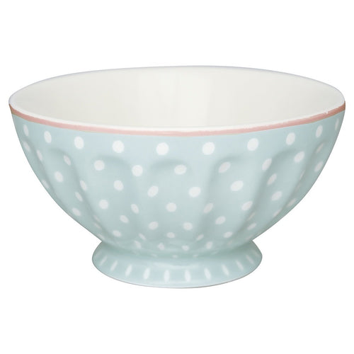 Greengate Blue spot XL French bowl - Daisy Park