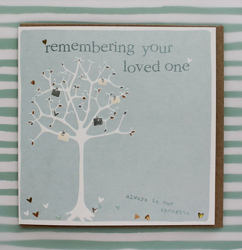 Remembering you are loved card - Daisy Park