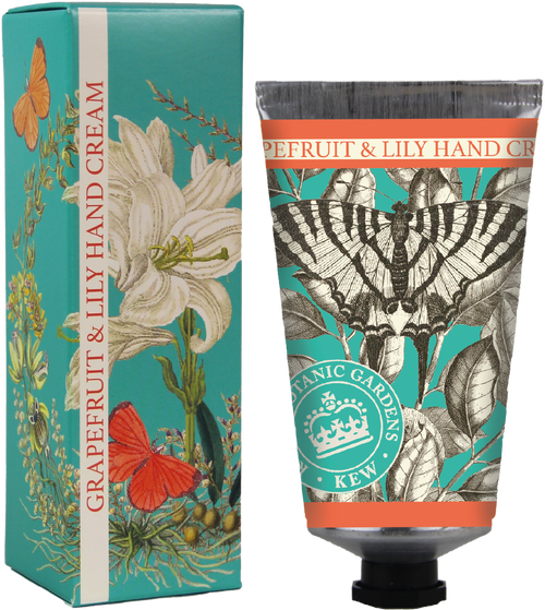 Kew Gardens 75ml Grapefruit & Lily hand cream