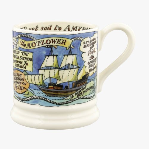 Emma Bridgewater The Mayflower 400 years - Daisy Park