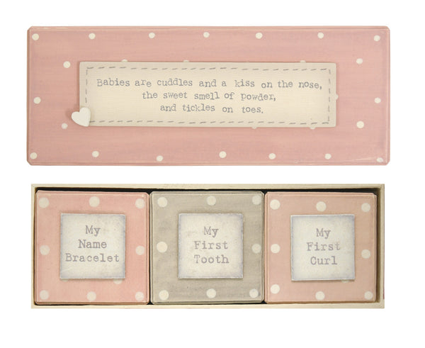 Baby's First gift box set - girl