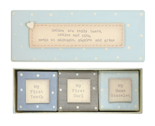 Baby's First gift box set - boy - Daisy Park